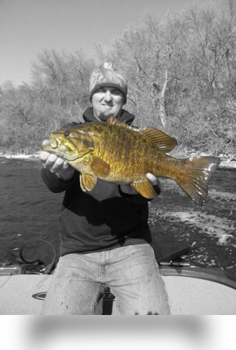 Chris Shields with a Nice Smallie!